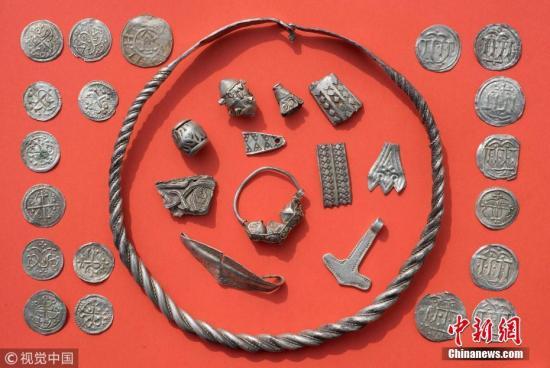 德国吕根岛发现大量宝藏 或将属于传奇国王哈拉尔