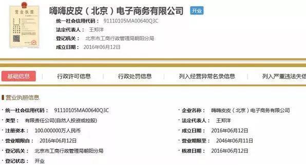 ▲国家企业信息系统截图。 图/新京报网