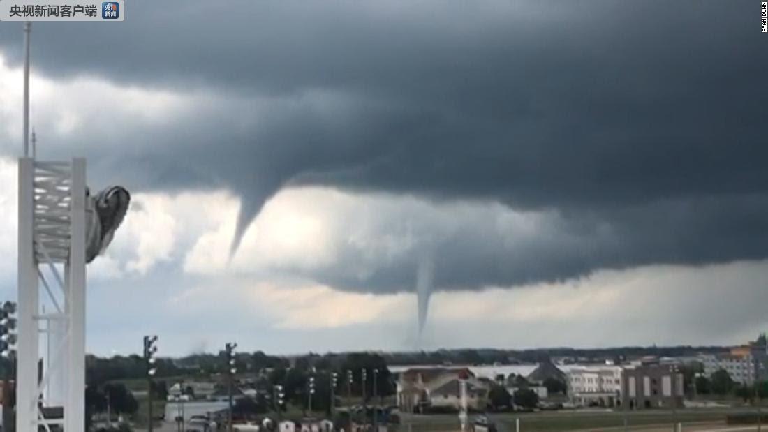 多股龙卷风袭击美国艾奥瓦州 至少17人受伤(图)