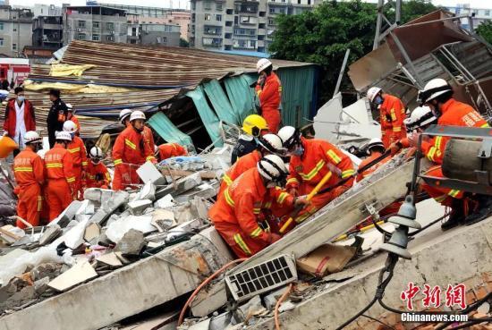 精彩:应对民房倒塌事件福州展开建筑工程安全隐患排查