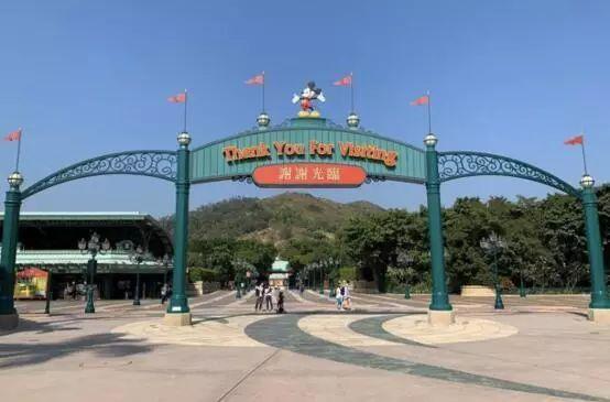 香港迪士尼乐园 资料图 图自《华尔街日报》