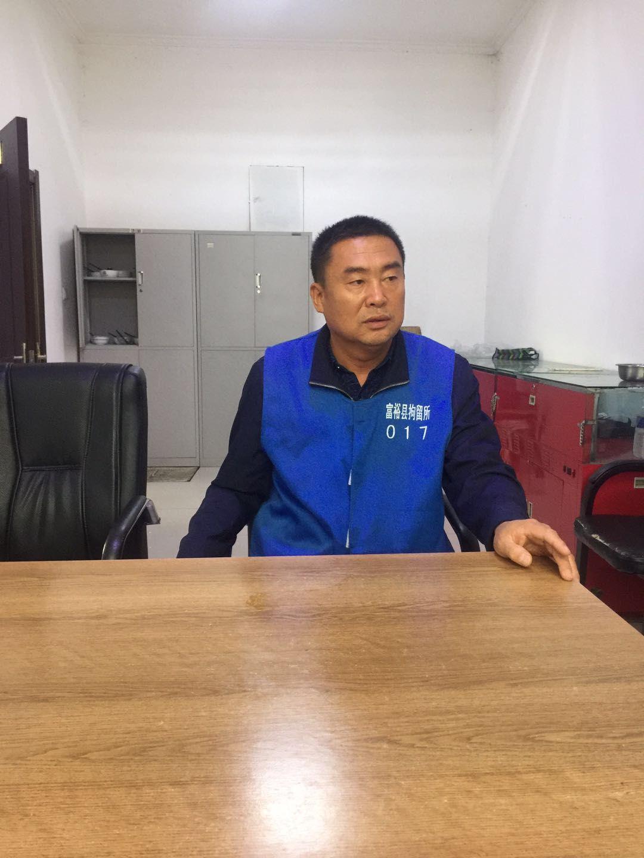 2018年4月11日,在富裕县拘留所的刘向阳。受访者供图