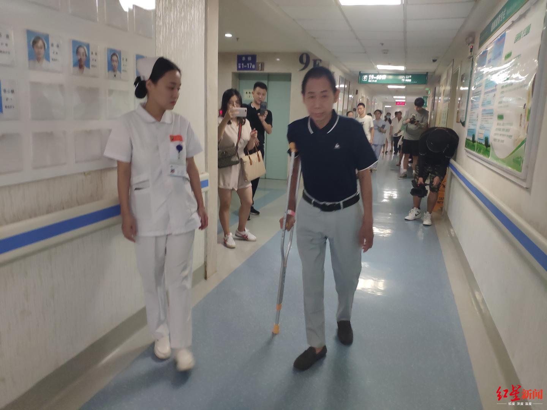 """回家了!长宁地震最重伤员顺利康复:""""我要继"""