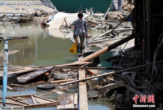 日本暴雨死亡人数上升至199人 仍有数十人失踪