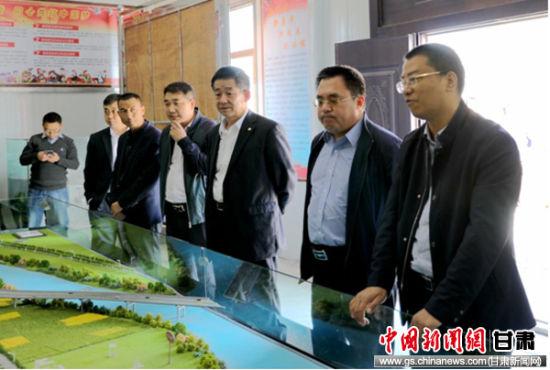 农发行甘肃省分行党委委员、副行长赵晓东在陇南市分行调研