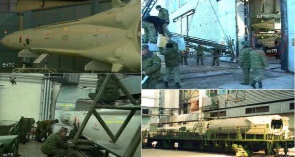 """资料图片:俄军试射PL-19""""努多尔""""反卫星导弹组图。(图片来源于网络)"""