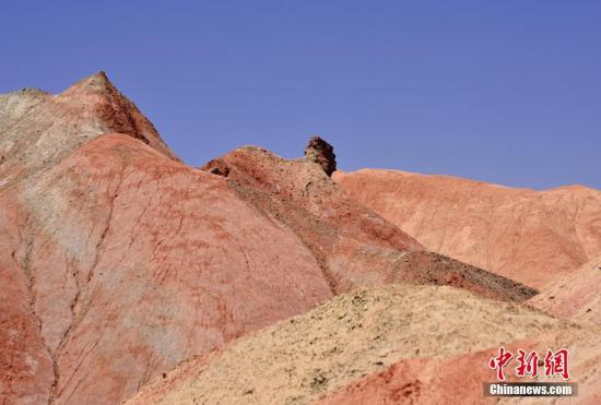 资料图:甘肃一处自然资源。 师永红 摄
