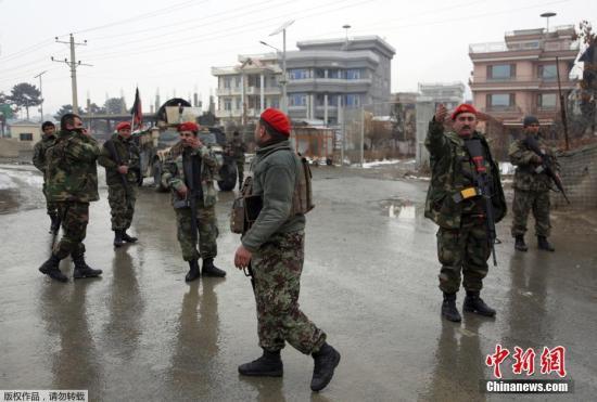 资料图:阿富汗士兵。