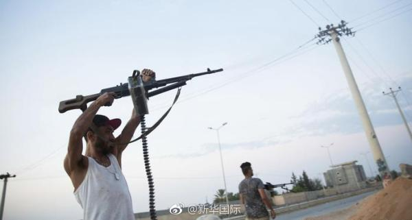 利比亚首都的黎波里武装冲突造成数十人伤亡