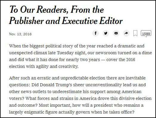 """特朗普口中《纽约时报》2016年的""""道歉信?#20445;?#22270;源:纽约时报截图)"""