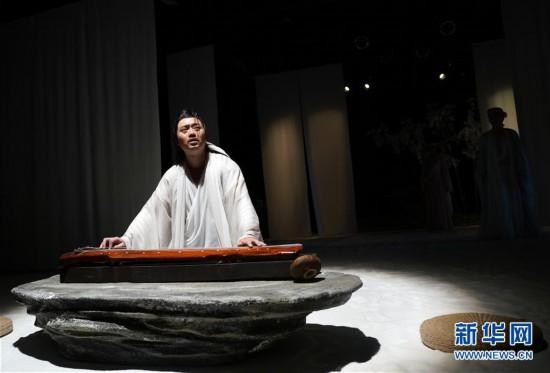话剧《广陵绝》在京上演