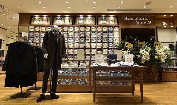 日本镰仓衬衫进中国,它能适应中国男士的买衣标准吗?