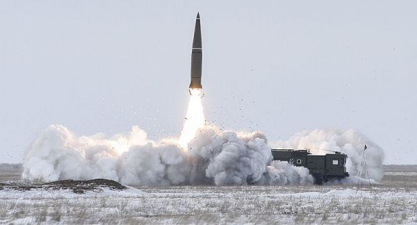 俄军在中亚反恐演练 出动米24武直及伊斯坎德尔导弹