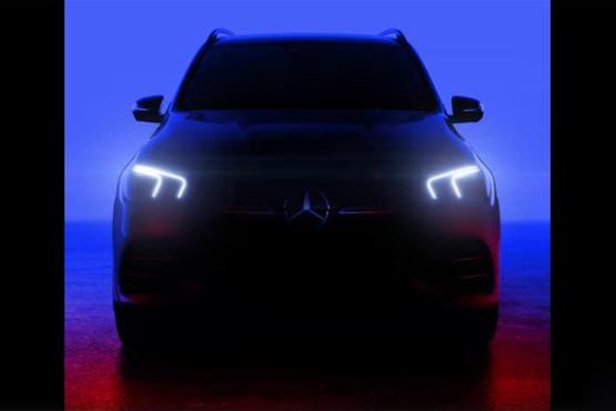 奔驰GLE预告图曝光 换装L6发动机/巴黎车展首发