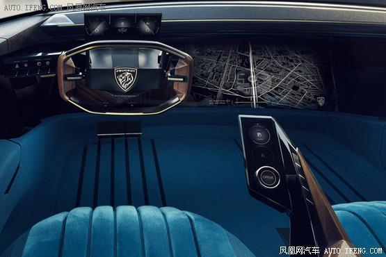 2018巴黎车展:标致e-Legend概念车首发