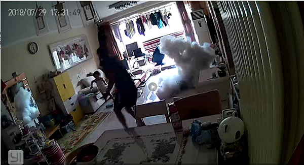 滑板车在家充电异响14秒爆炸 消费者获赔2万(图)
