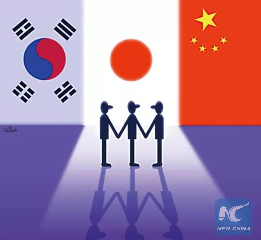 """中日韩联手使出两大""""撒手锏""""迎战贸易保护逆流一起来看流星雨吻戏在第几集"""
