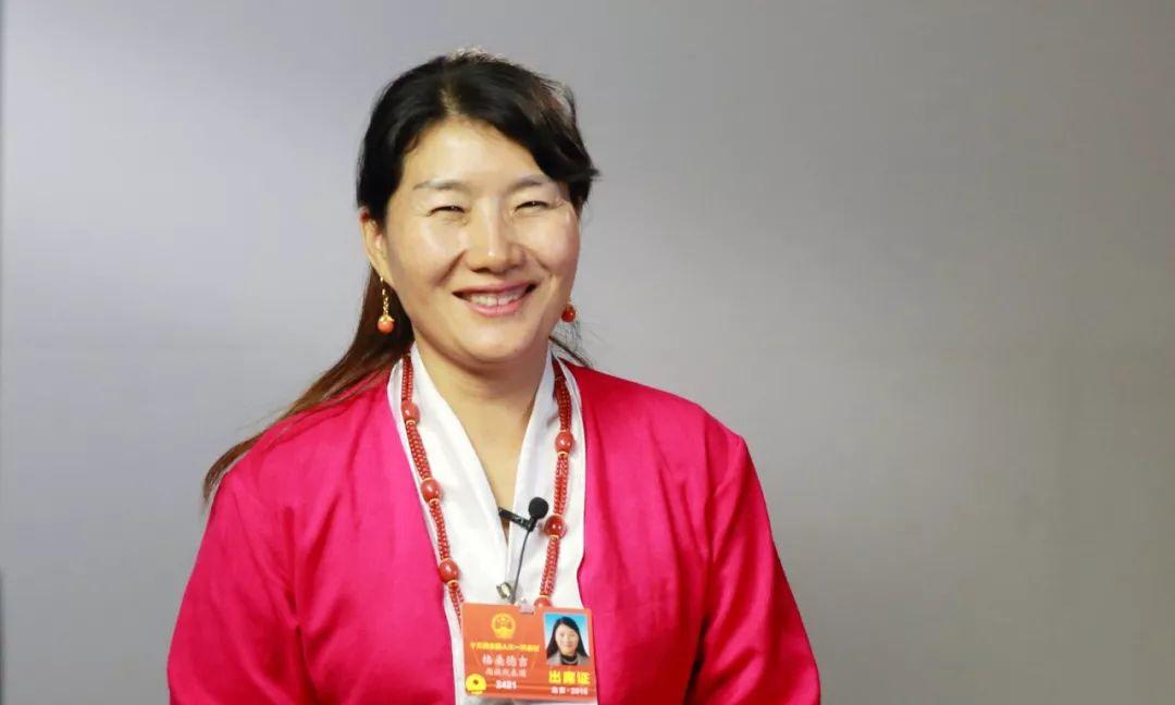 视频专访|人大代表从西藏来--门巴族代表格桑德吉