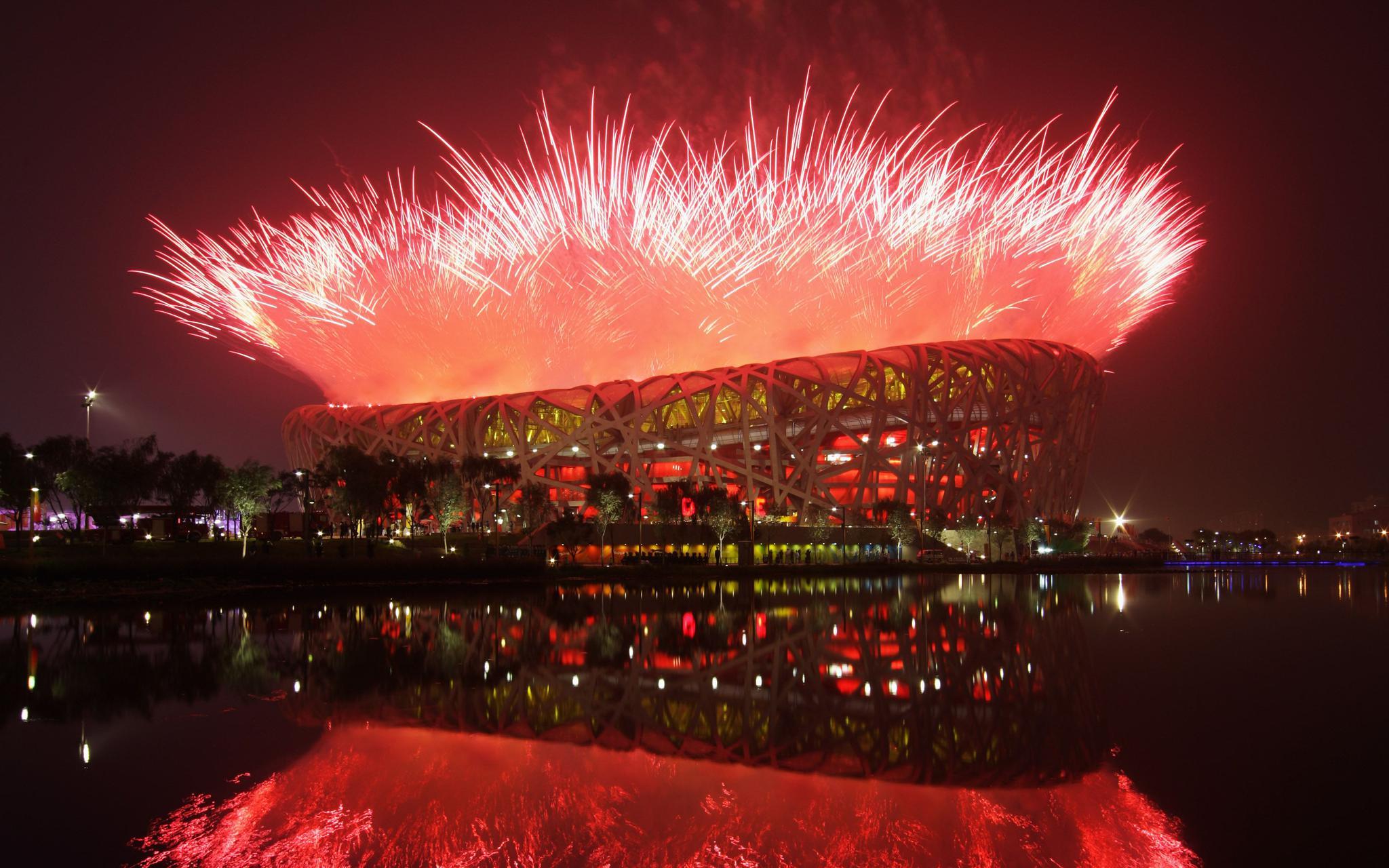 国家体育场|双奥体育场,全球第一个