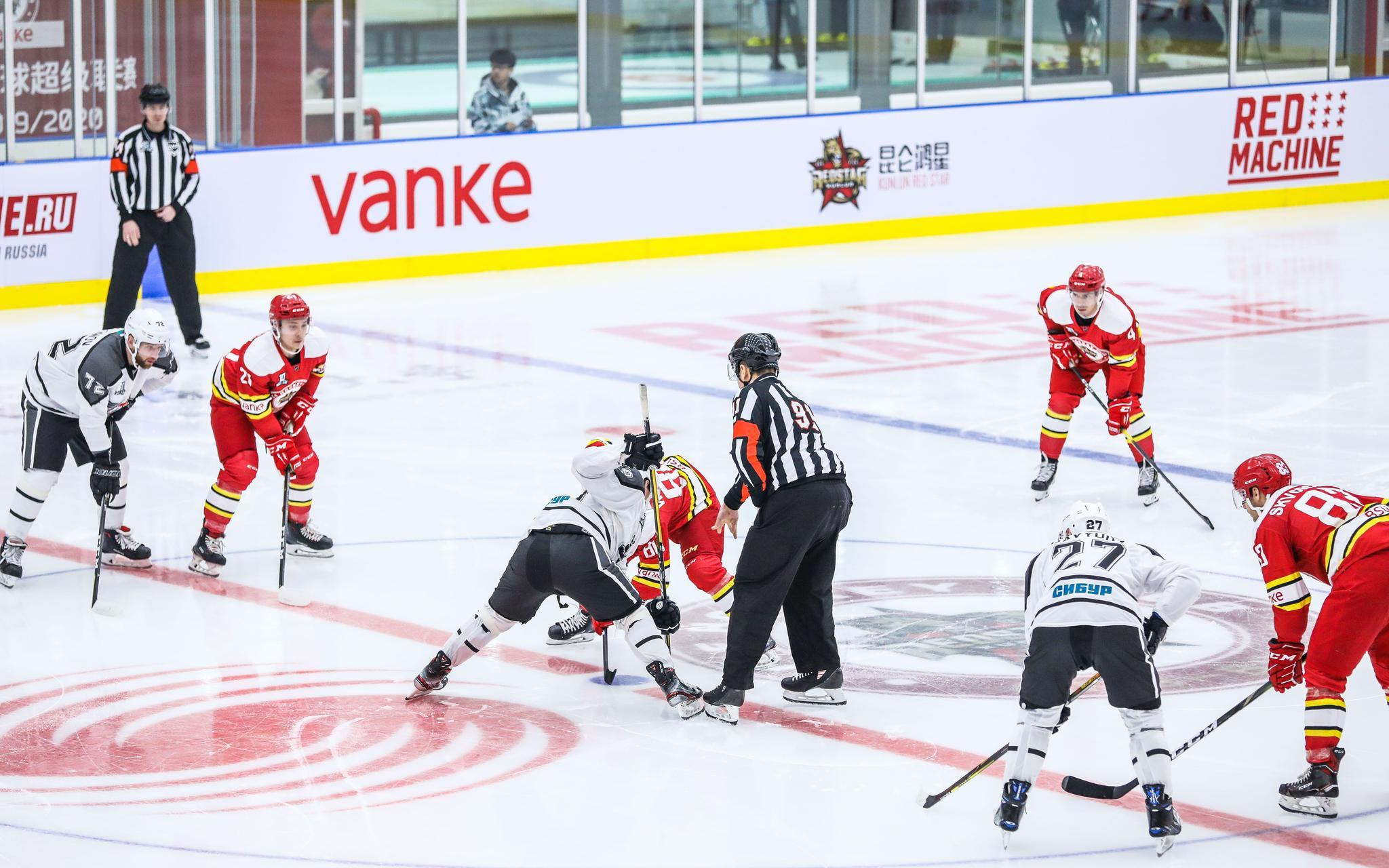 冰球超级赛,北体大昆仑鸿星主场
