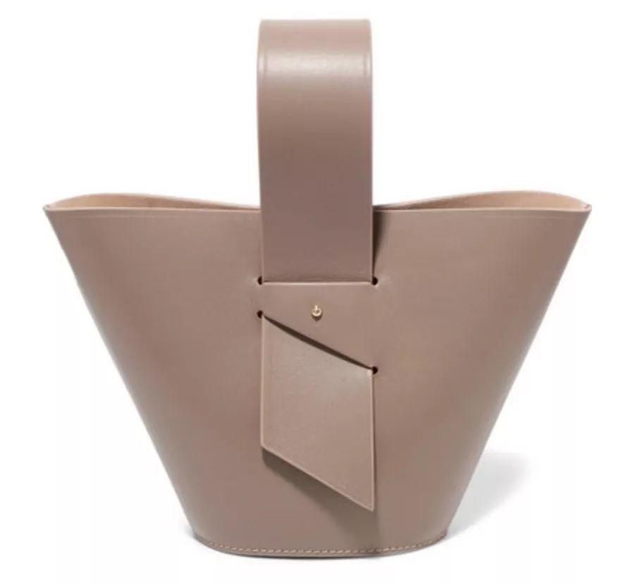 CAROLINA SANTO DOMINGO Amphora 皮革迷你手提包$802