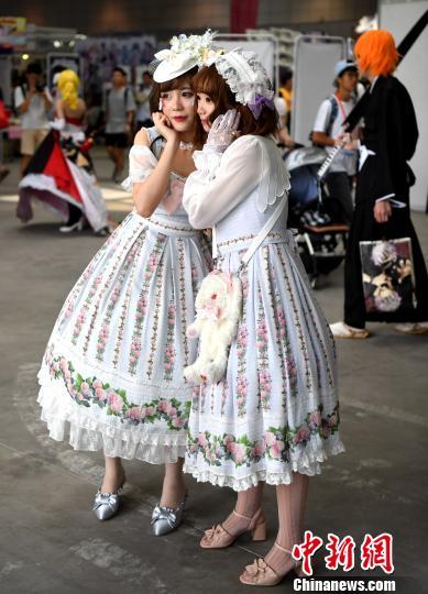 童装名称大全海小资金创业风投门路丝动漫节在福州举行