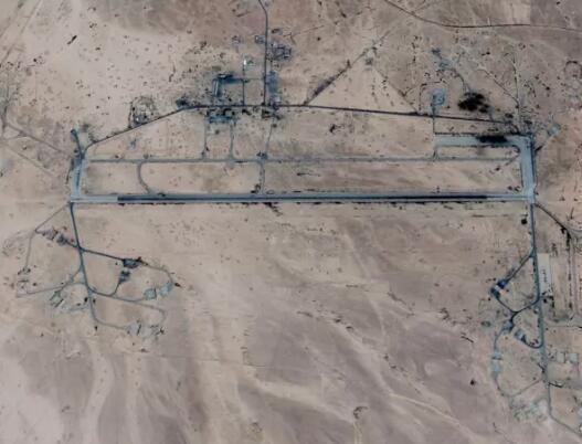叙利亚T-4空军基地(图源:以色列《国土报》)