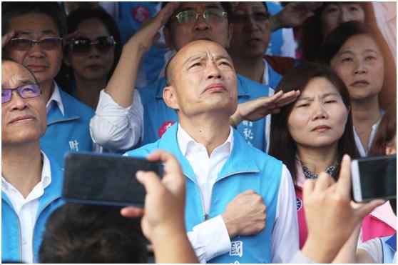 韩国瑜狠批民进党当局:东厂仍旧在 肥猫处处生