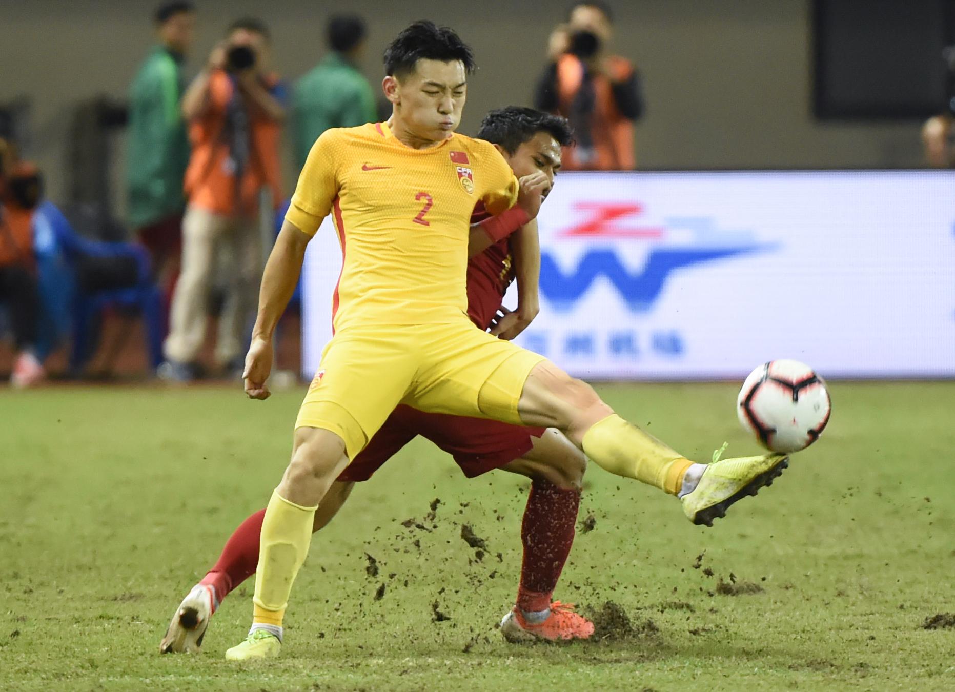 童磊世界波 国奥队两球击败印尼队取热身赛两连胜