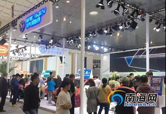 首届海口国际新能源车展收官 一大批最新产品发布