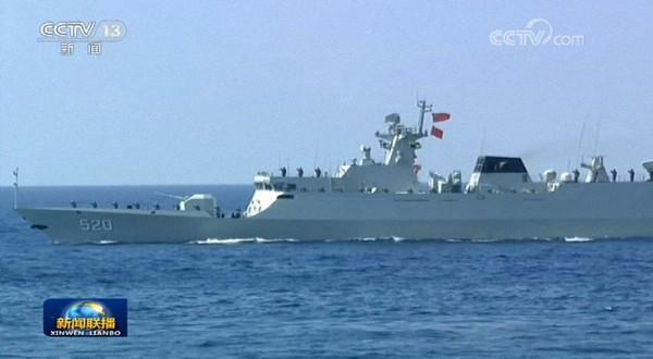近海先锋:056型轻型导弹护卫舰。