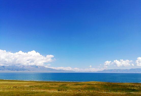 ▲赛里木湖风光。白云怡 摄