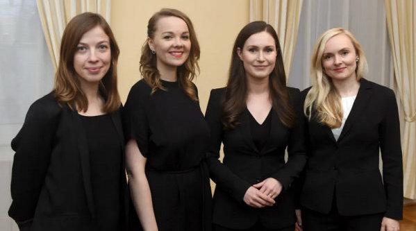 芬兰女总理内阁:19名部长12位女性
