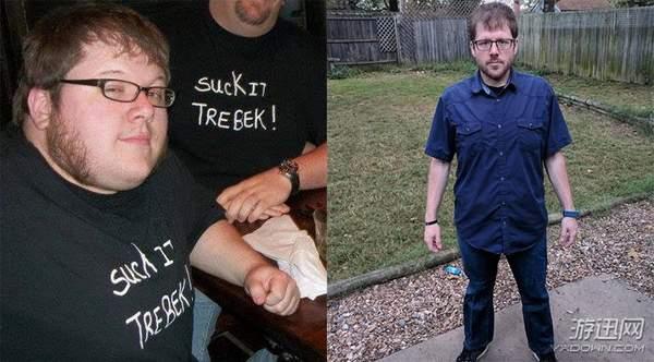 国外胖哥玩跳舞机减重100斤 逆袭成型男舞林达人