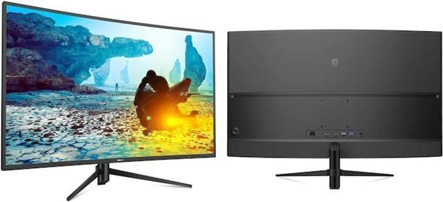 飞利浦发布392M7C新款38.5英寸曲屏游戏显示器