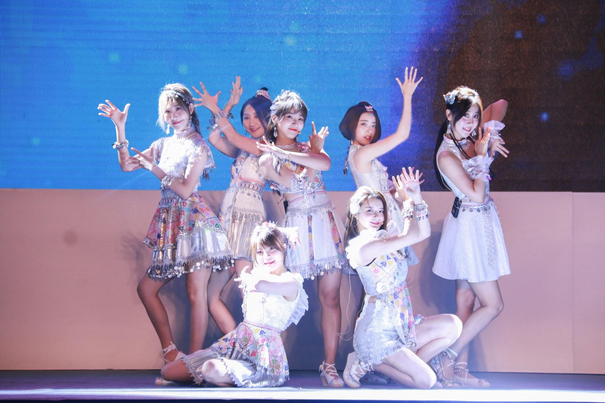 SING女团《夜笙歌》亮相国际舞台 电子国风惊艳世界