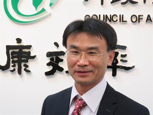 """台当局""""农委会主委""""陈吉仲。(图片来源:台湾""""中时电子报"""")"""
