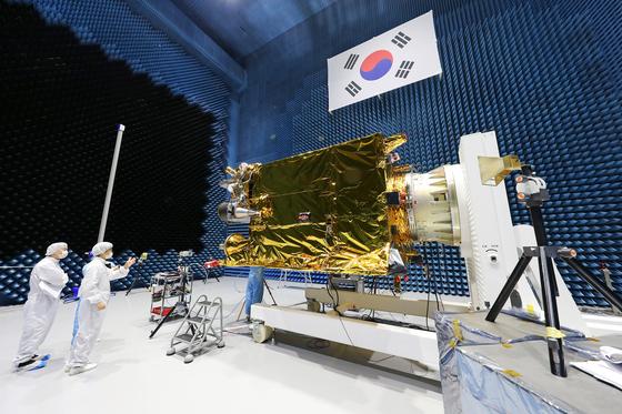 韩国将发射首款自制静止轨道卫星 号称世界最高水平