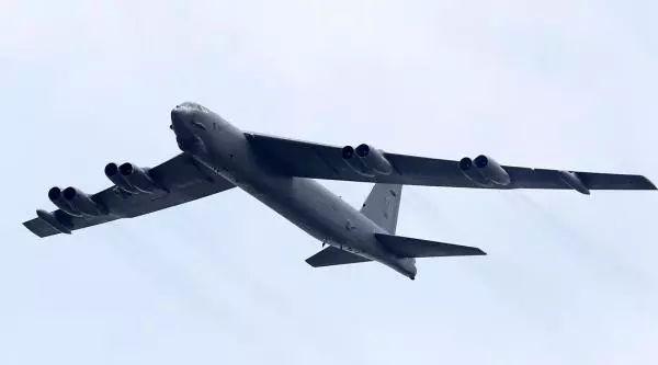美国空军B-52战略轰炸机。视觉中国 图
