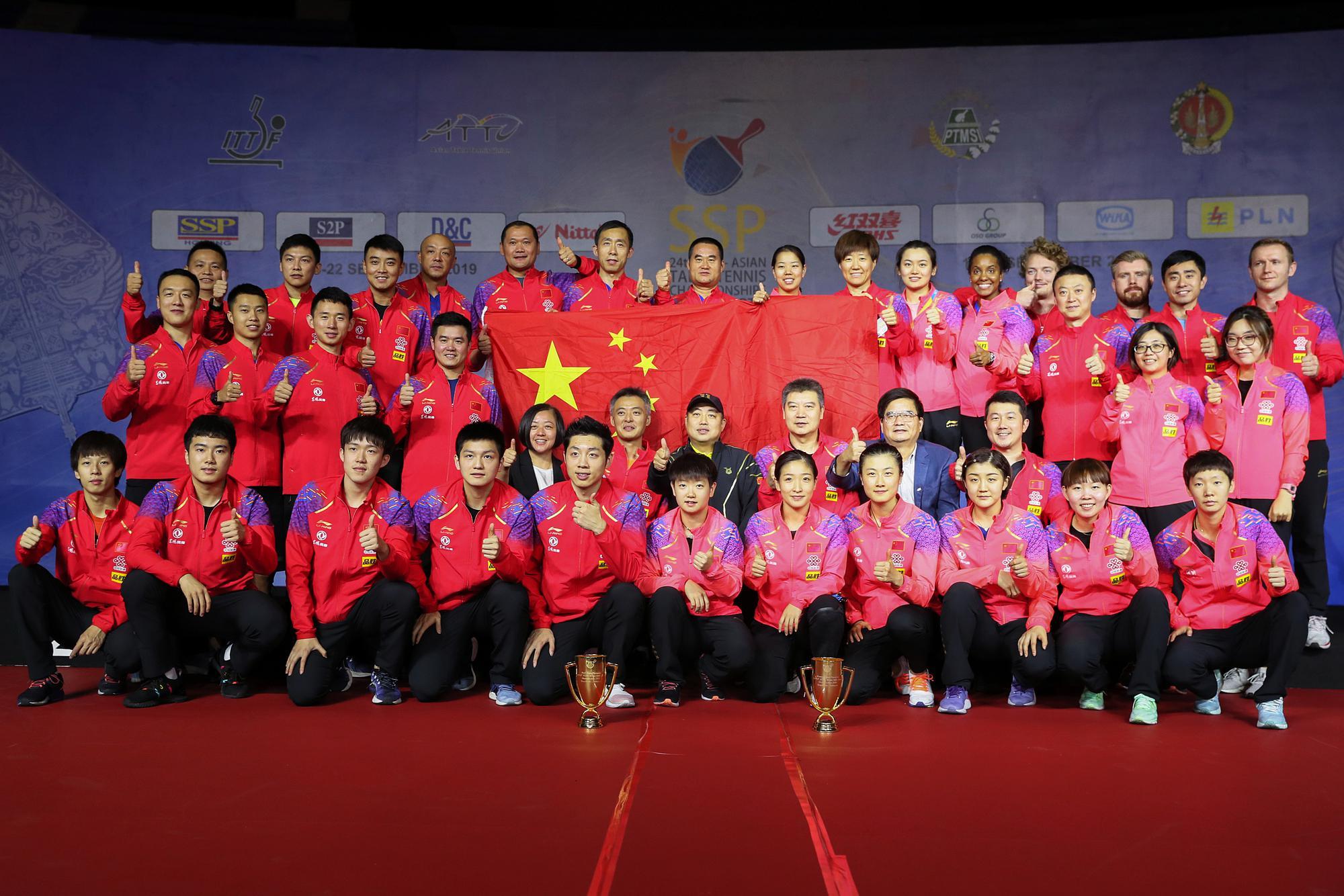 国乒全力备战世界杯团体赛