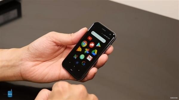 3.3英寸大小的PALM手机搭载骁龙435处理器,已入网工信部