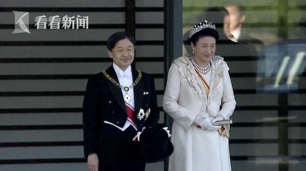 日本德仁天皇即位巡游 小细节都在这里