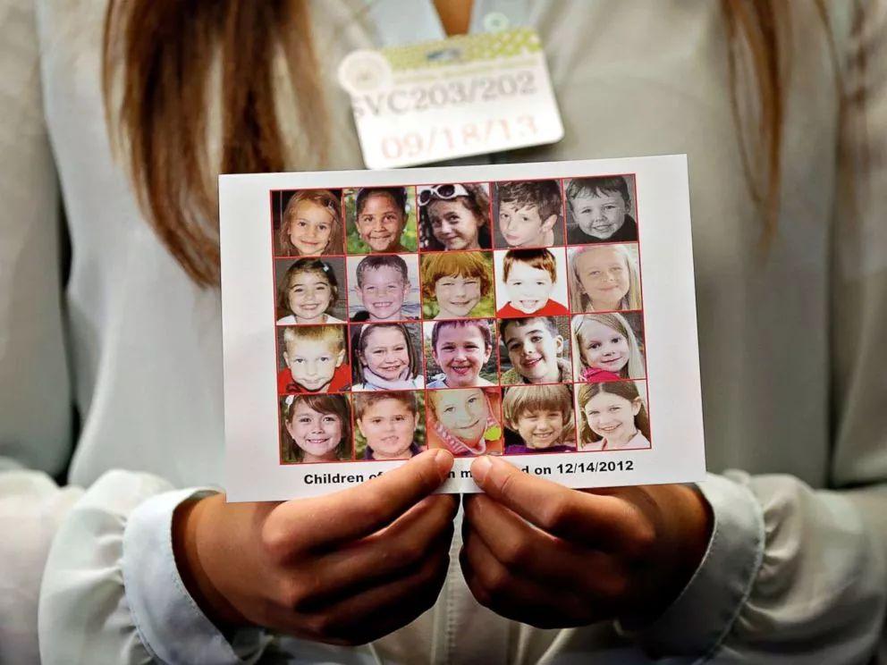 ▲桑迪·胡克小学枪击事件中不幸去世的儿童(盖帝图像)