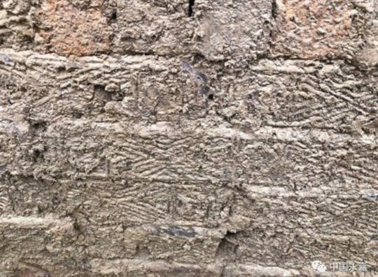 古墓墓砖上印有的图案