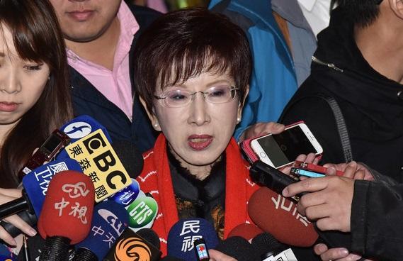 洪秀柱批蔡英文:没点亮台湾却点燃斗争之火