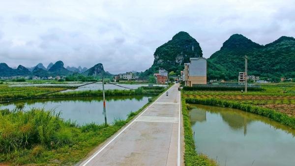 """广西以""""优质量""""铸造品牌农村公路"""