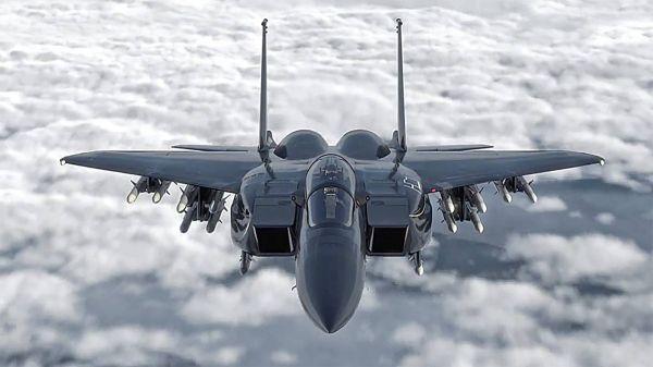 资料图片:美空军F-15EX改进型战机CG效果图。(图片来源于网络)