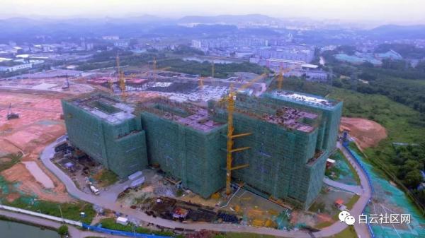 广东白云学院北校区(首期)预计9月建成!坐落钟落潭、规模26000人