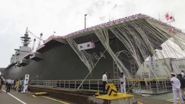 日本海上侵占队出云级准航母(好国水师陆战队网站)
