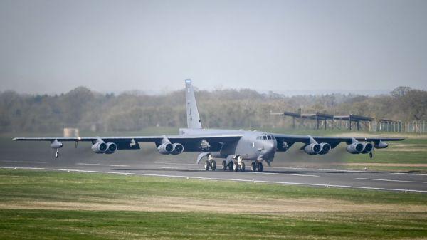 好军的B-52轰炸机(好国空军网站)